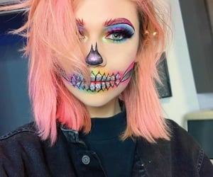 Halloween, makeup, and jessie paege image
