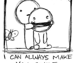 draw, drawing, and smile image