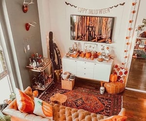 Halloween, home, and autumn image