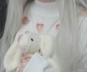 aesthetic and bunny image