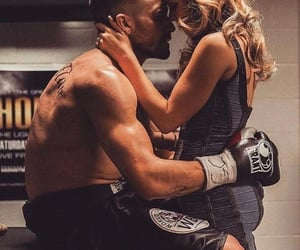 love, couple, and southpaw image