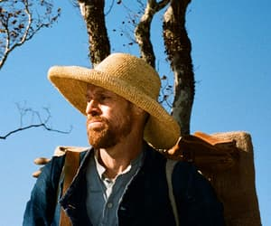 willem dafoe, film, and at eternity's gate image