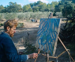 film, willem dafoe, and at eternity's gate image