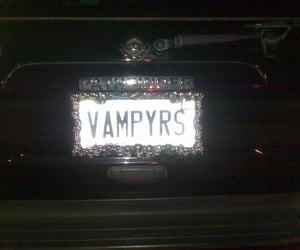 black, theme, and vampire image