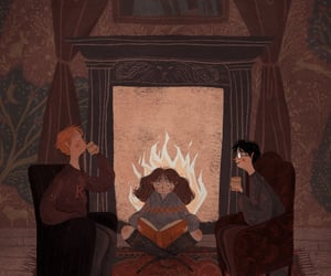 harry potter and art image
