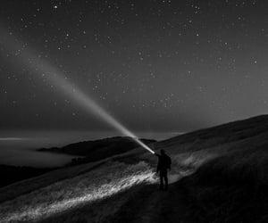 stars, night, and light image