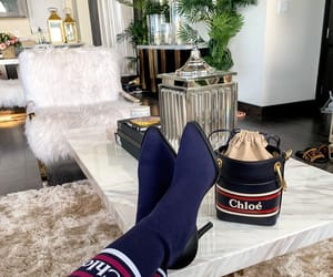 boots, chloe, and fashion image