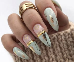 woman, fashion, and hands image