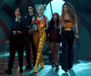 DC, harley quinn, and birds of prey image