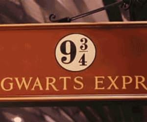 gif, harry potter, and hogwarts express image