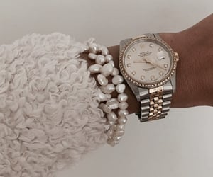fashion, girl, and rolex image