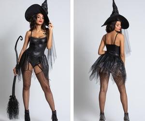 black, costume, and dress image