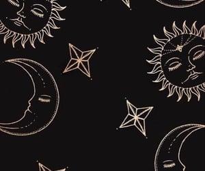 moon, black, and sun image