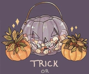 Halloween, pumpkin, and gif image