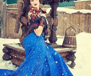 beauty, dress, and Russian Beauty image