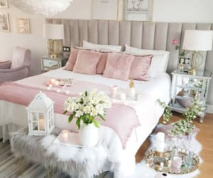 bedroom, decor, and girl image