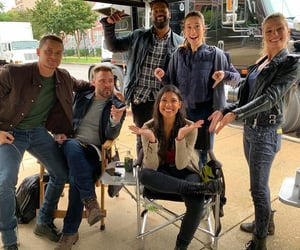 chicago pd, kim burgess, and adam ruzek image