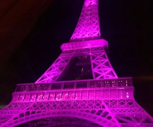 color, eiffel tower, and france image