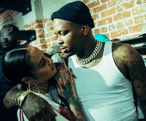 yg and kehlani image