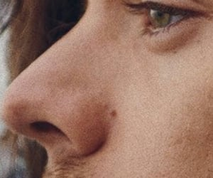 face, profile, and Harry Styles image