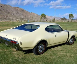 dream car, muscle cars, and vintage cars image