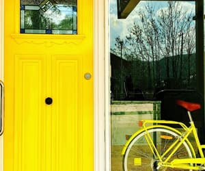 bicycle, doors, and photography image