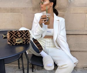coffee, fashion, and fendi image