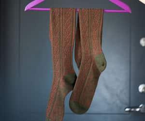etsy, knee socks, and long socks image
