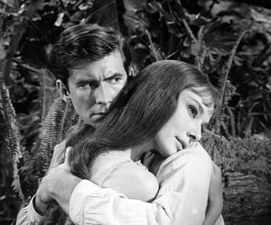 50's, anthony perkins, and audrey hepburn image