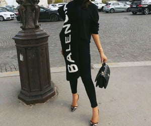 Balenciaga, black, and chanel image