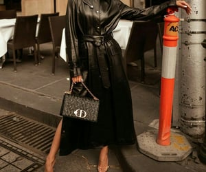 handbag, outfit, and chic image