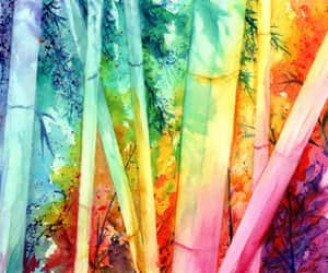 etsy, bamboo forest, and hawaii art image