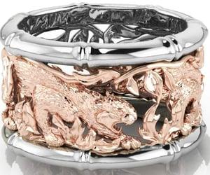 diamondweddingband, etsy, and gold ring image