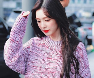 irene, kpop, and red velvet image