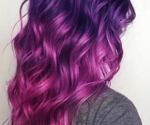 hair, pink, and purple pink hair image