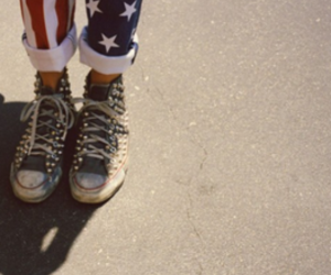 shoes, america, and usa image