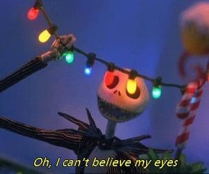 christmas, the nightmare before christmas, and Halloween image