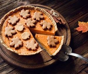 autumn, cake, and fall image