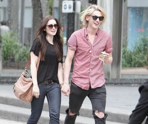 couple, Jamie Campbell Bower, and les miserables image