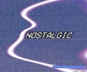 nostalgic, grunge, and purple image