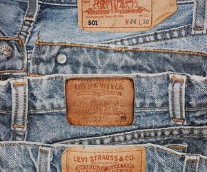 jeans, levis, and vintage image
