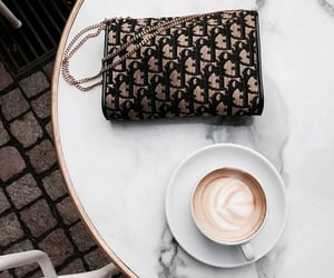 coffee, dior, and fashion image