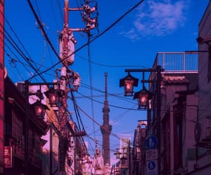aesthetic, sky, and japan image