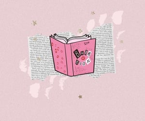 burn book, mean girls, and pink image