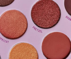 eyeshadow, palette, and make up image