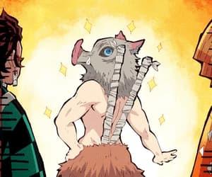 anime, funny, and demon slayer image