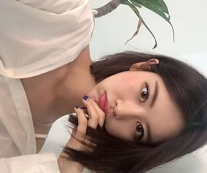 asian, beauty, and haïr image
