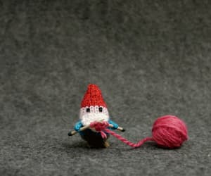 animation, stopmotion, and knitting love image