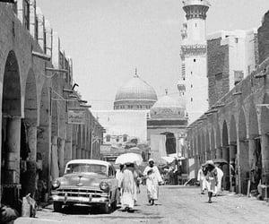 1950s, arabian, and b&w image