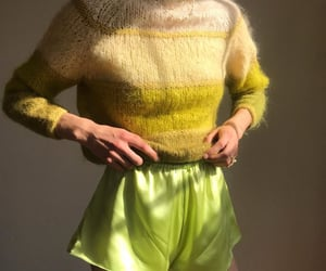 fashion, green, and pale image